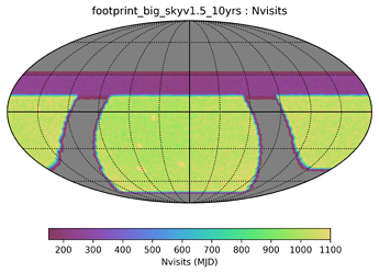 footprint_big_skyv1_5_10yrs_Nvisits_HEAL_SkyMap