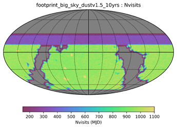 footprint_big_sky_dustv1_5_10yrs_Nvisits_HEAL_SkyMap